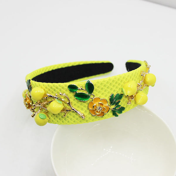 Mellow Yellow Headband And Earring Set