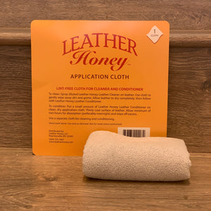 Leather Honey Application Cloth