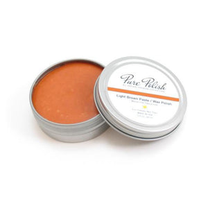 Pure Polish Wax Polish for premium leather shoe shine. Stocked by Little Lusso Australia