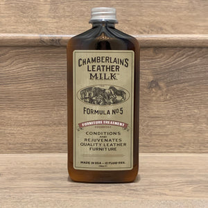 Leather Milk No.5 Leather Furniture Conditioner. For nourishing leather couch and furniture.  Stocked in Little Lusso Australia
