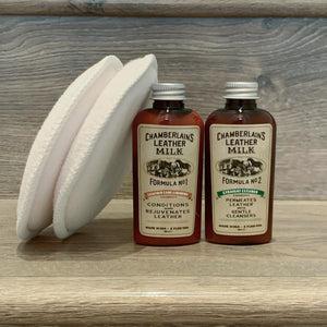 Leather Milk Clean + Conditon Stocking Stuffer Set