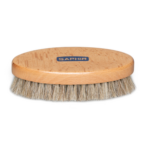 Saphir Oval Brush for leather care. Stocked in Australia