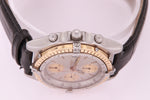 Breitling Chronomat Steel & Gold Automatic Mens Chronograph Watch with Papers