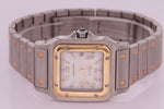Cartier Santos Automatic Steel & Yellow Gold Watch Ref 2319 Unisex