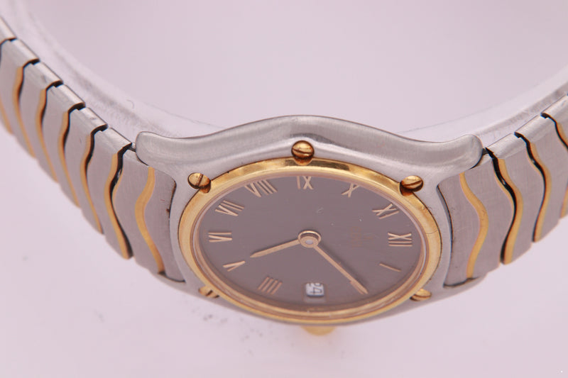 Ebel Classic Wave Sport Ladies Watch Stainless Steel & Gold Watch