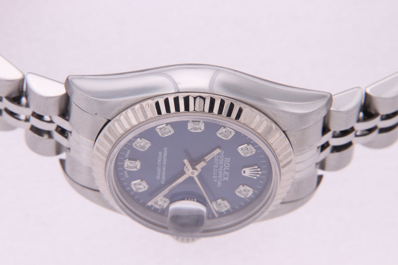 Rolex Datejust Ladies Stainless Steel