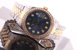 Rolex Datejust Gents Stainless Steel and Gold Diamond Watch Rolex Box Ref 16013