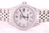 Rolex Datejust Ladies Stainless Steel Automatic Diamond Watch with Box & Papers
