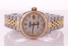Rolex Datejust Ladies Stainless Steel & Yellow Gold with Mother of Pearl 79173