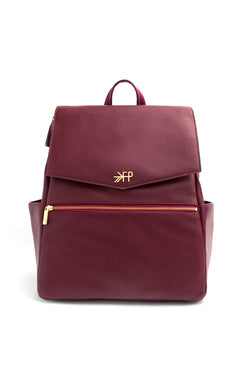 Burgundy Freshly Picked Diaper Bag