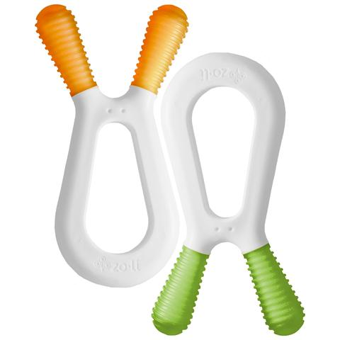 Zoli Bunny Teether Duo