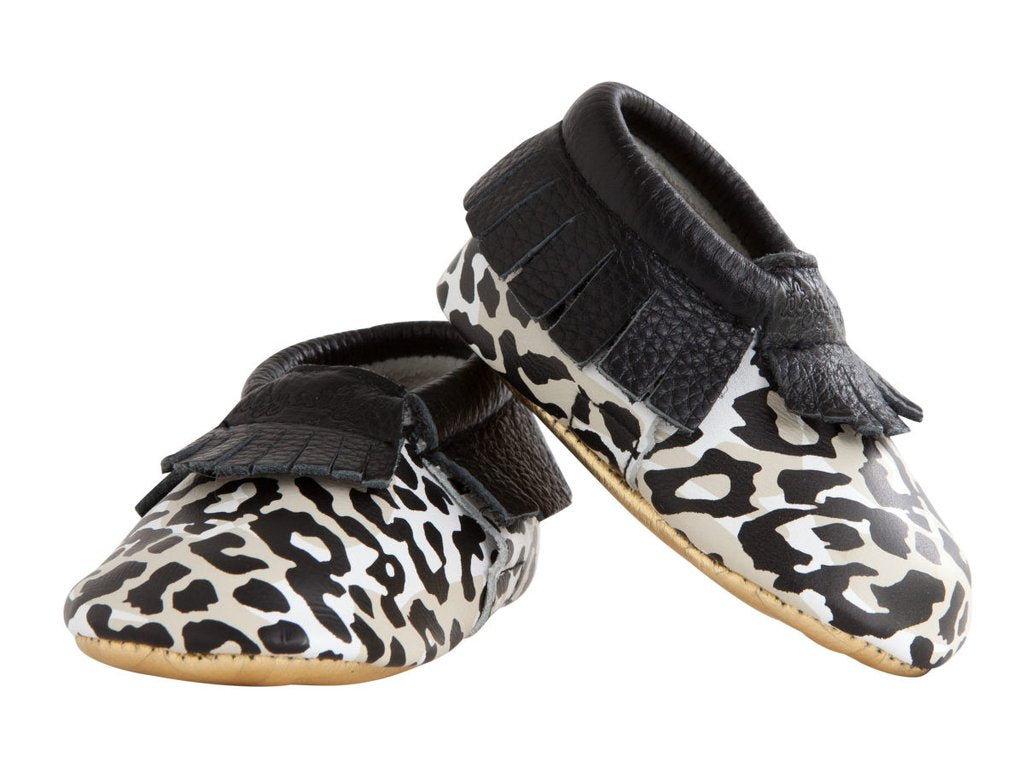 Cheetah Girl Moccasins