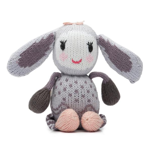 Rattle Buddy- Belle the Bunny