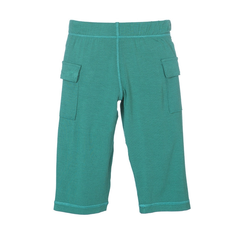 Solid Cargo Pant- Shady Glade