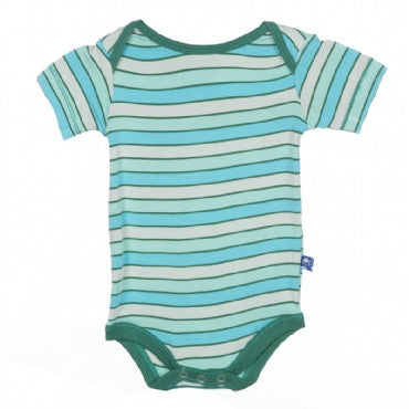 One Piece- Boy Tropical Stripe