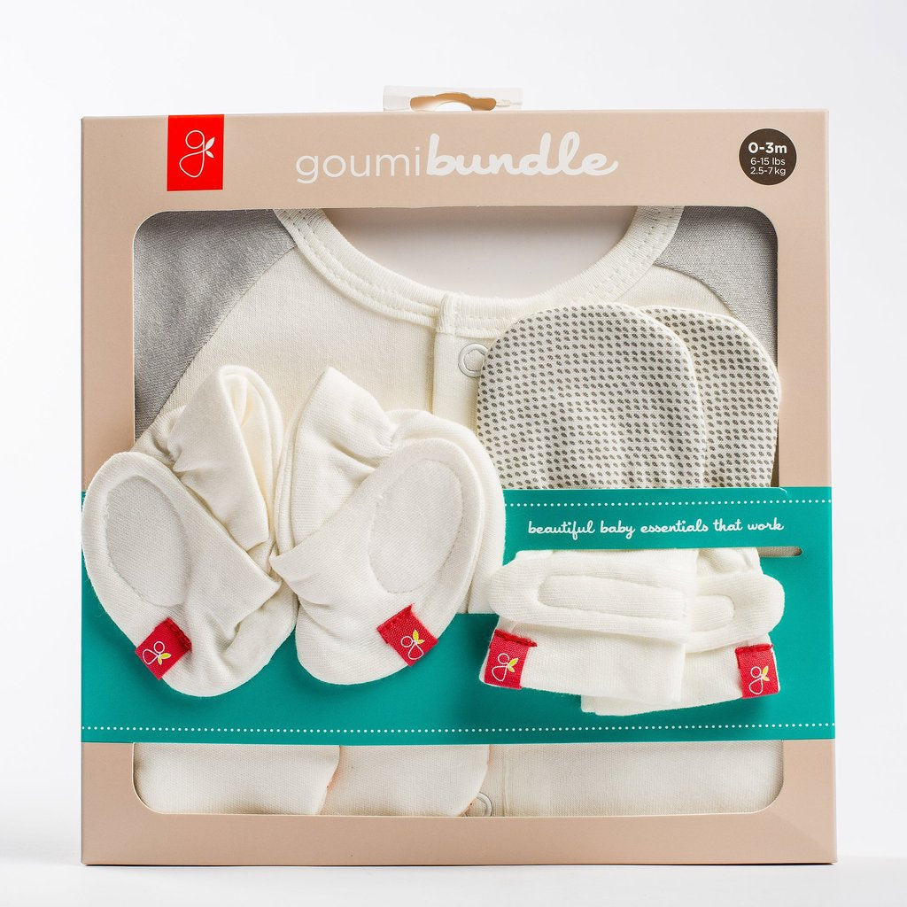 Mitts, Boots, Jamms Bundle- Grey pebbles