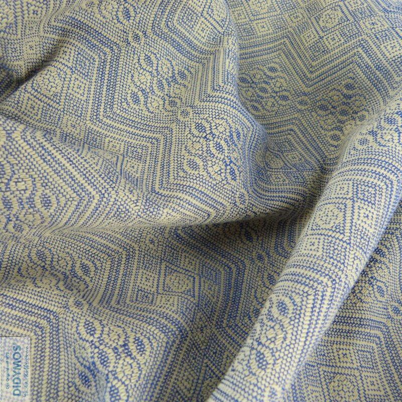 Didymos 1975 Blue Silk (Extra Wide)