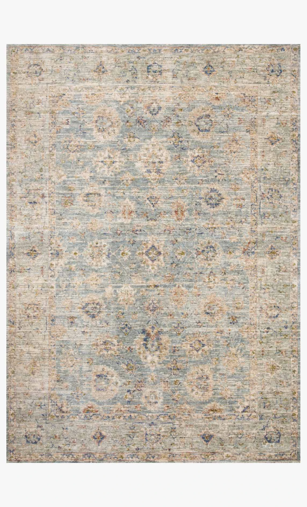 Revere Rug Lt Blue Multi at Blue Hand Home
