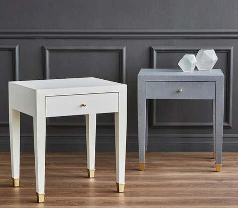 Shop all Bungalow 5 accent tables at Blue Hand Home | Lacquered Grasscloth | Free Shipping & Earn Points