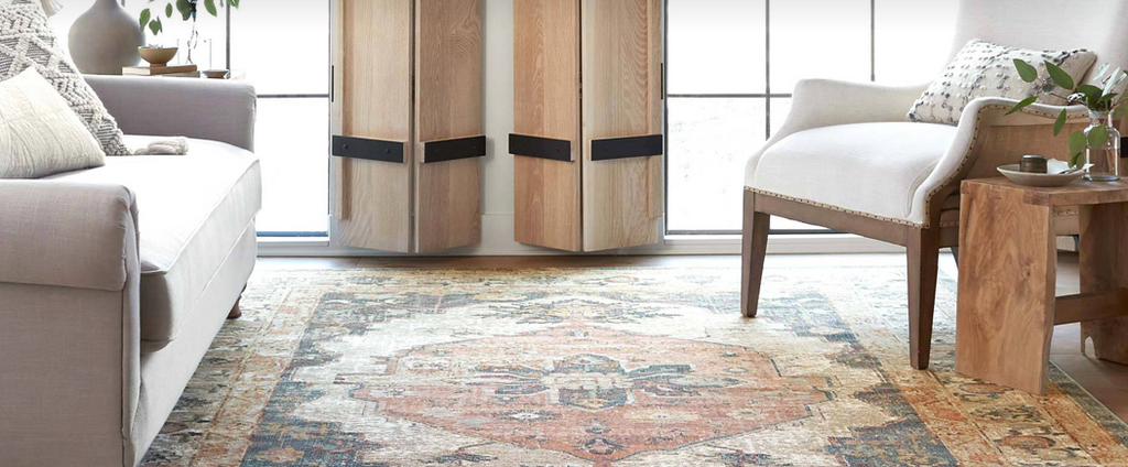 Shop Classic Rugs by iconic brands like Loloi Rugs, Jaipur & Joanna Gaines of Magnolia Home at Blue Hand Home