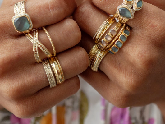 Shop all Anna Beck Jewelry at Blue Hand Home