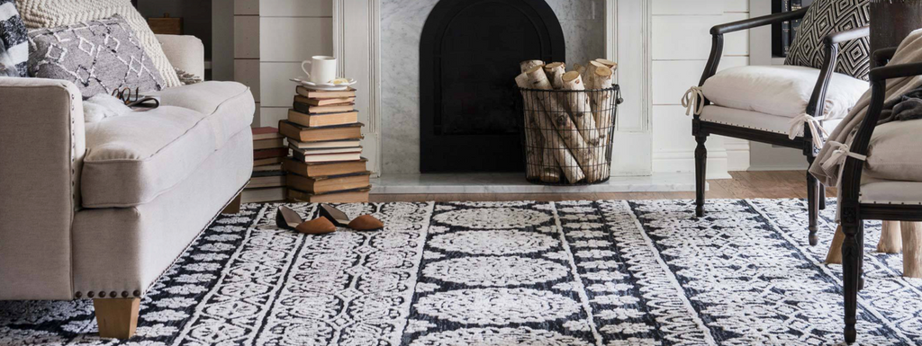 Shop rugs by brands like Joanna Gaines of Magnolia Home, Loloi Rugs & Jaipur Living at Blue Hand Hoe