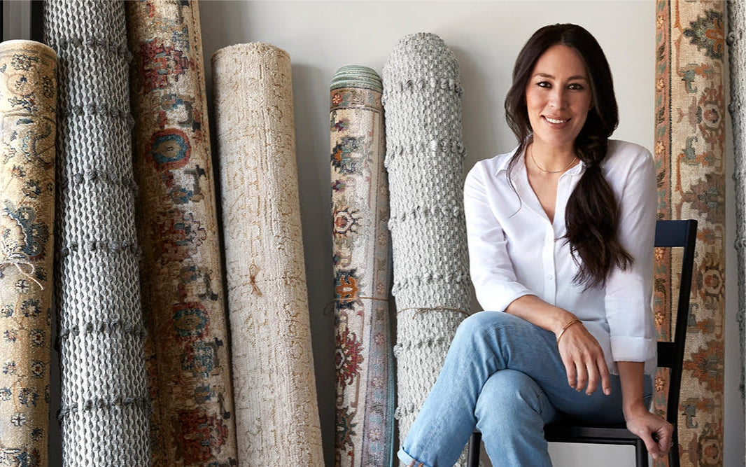 Joanna Gaines Rugs at Blue Hand Home