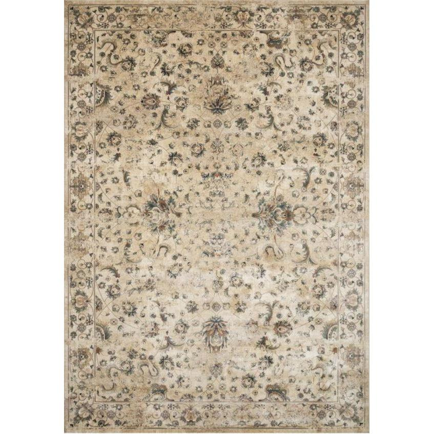 Joanna Gaines Evie Rug Collection - Ivory/Multi-Loloi Rugs-Blue Hand Home