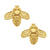 Susan Shaw Bee Stud Earrings - Gold