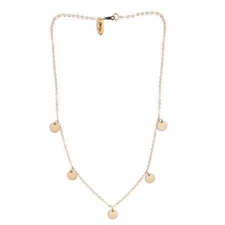 Mod + Jo Saint Choker Jolie Shorty Necklace-Mod+Jo-Blue Hand Home