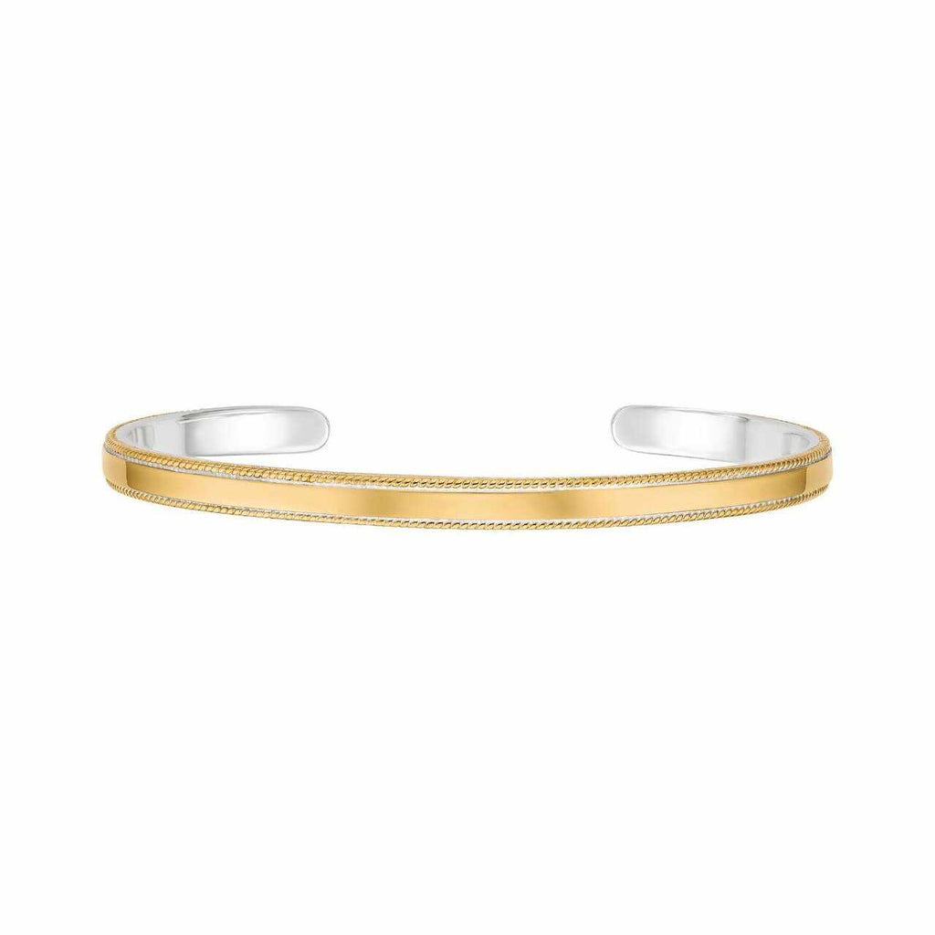 Anna Beck Balance Cuff - Gold-Blue Hand Home