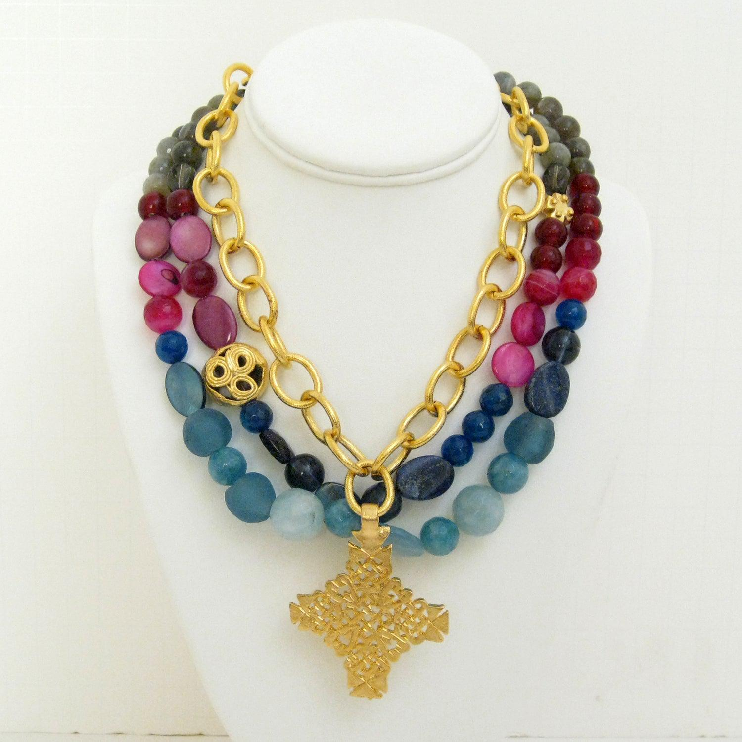 of precious products life necklaces tree necklace stone semi chakra jewellery