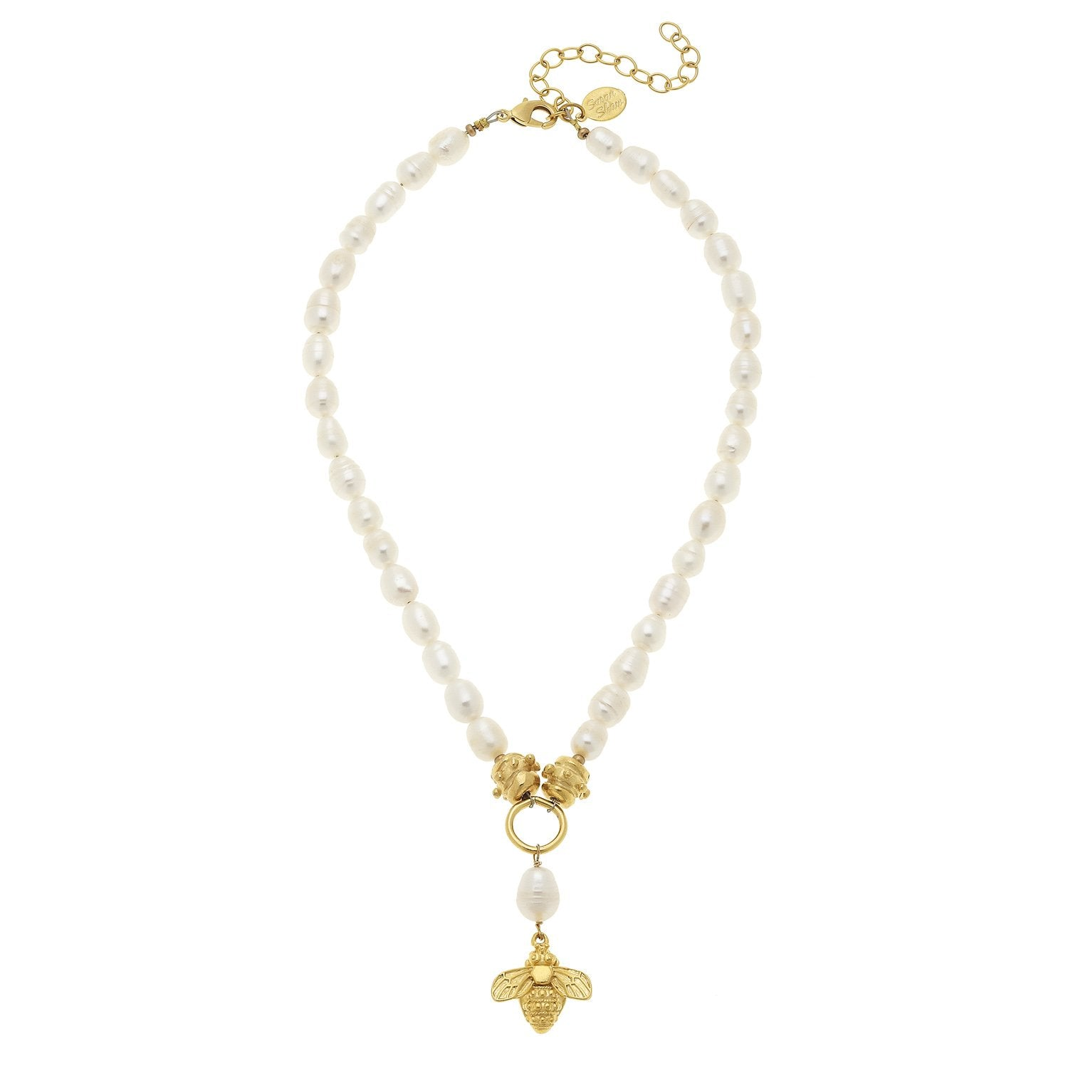 Susan Shaw Bee on Genuine Freshwater Pearl Necklace