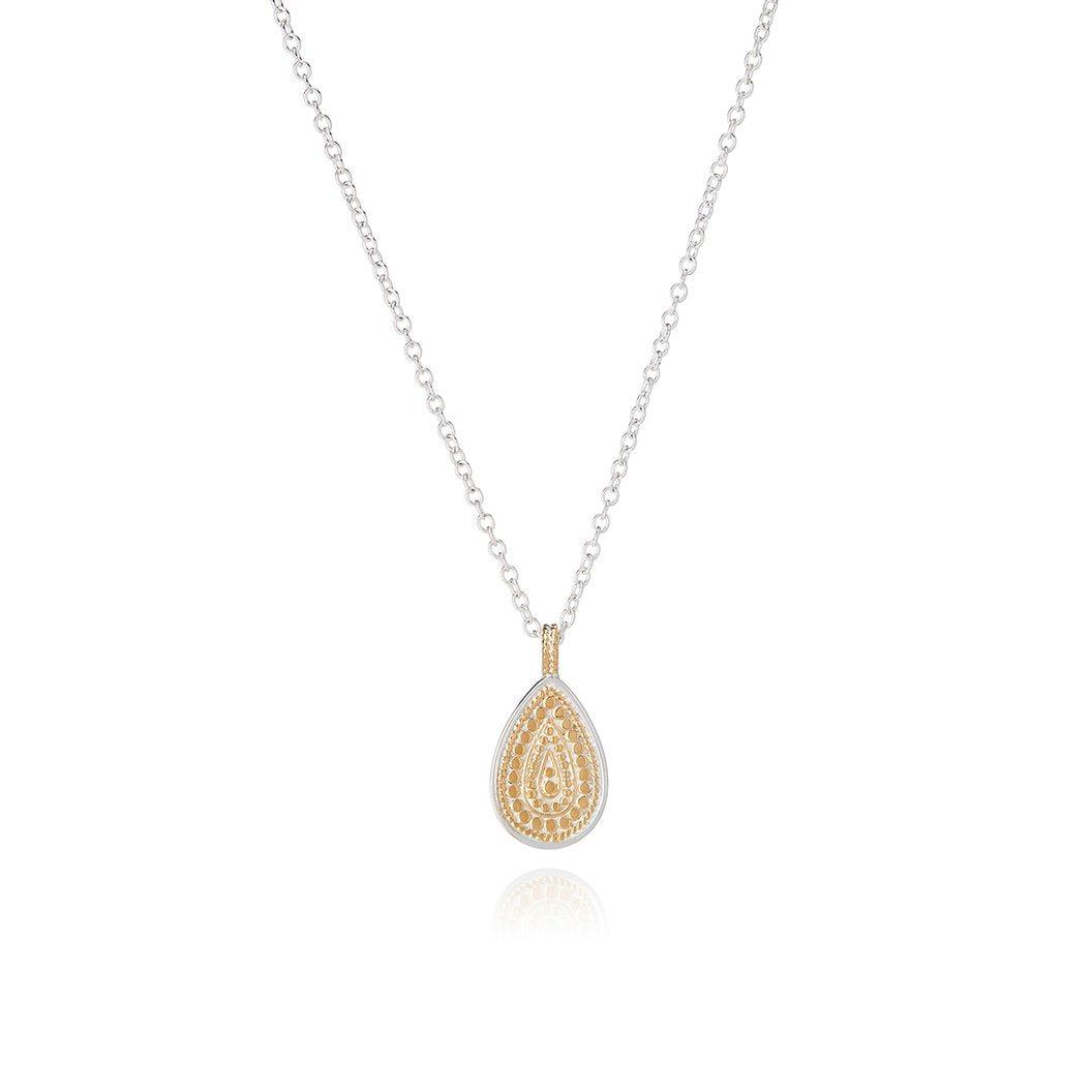 Anna Beck Signature Beaded Single Drop Pendant Necklace