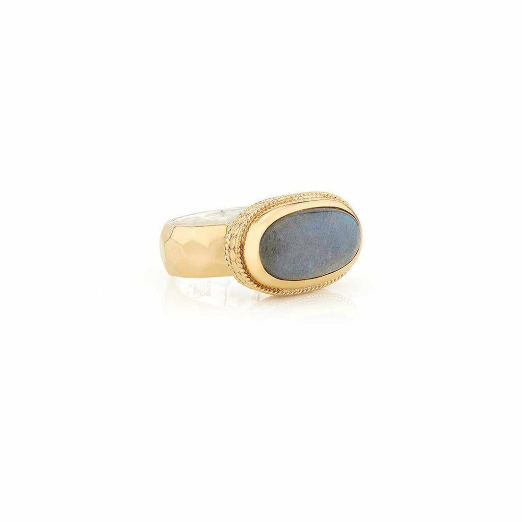 Anna Beck Labradorite Cocktail Ring - Gold-Anna Beck Jewelry-Blue Hand Home