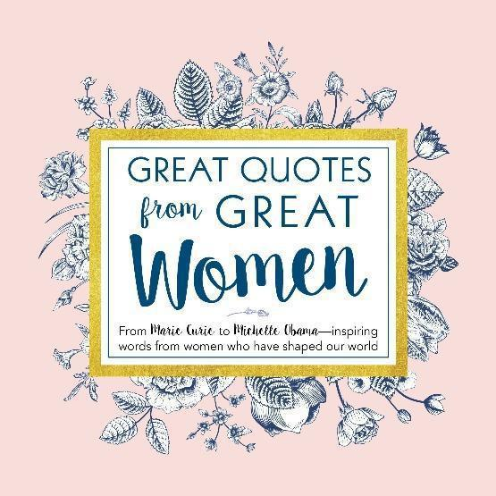 Great Quotes From Great Women Blue Hand Home