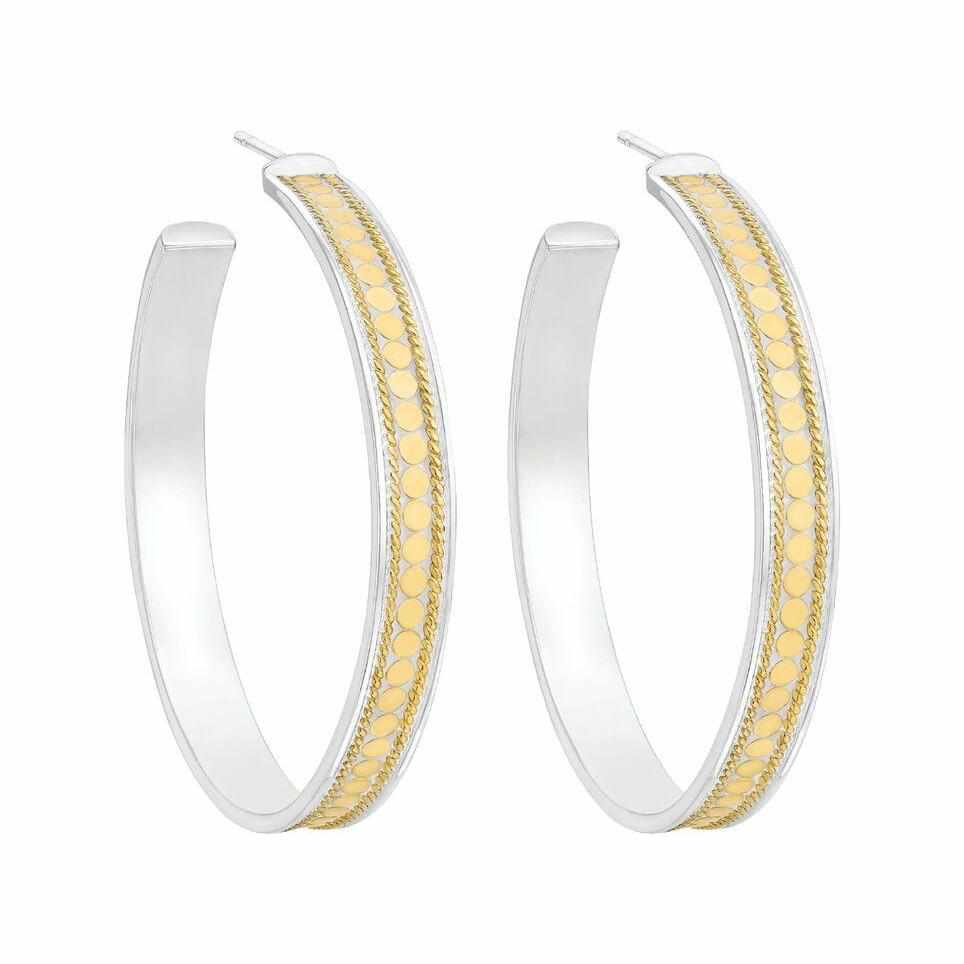Anna Beck Hoop Earrings - Gold-Anna Beck Jewelry-Blue Hand Home