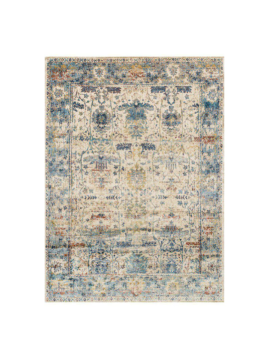 Loloi Rugs Anastasia Collection - AF-07 Sand/Light Blue