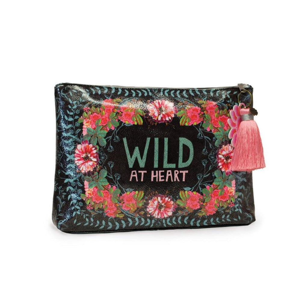 Papaya Wild At Heart - Large Accessory Pouch