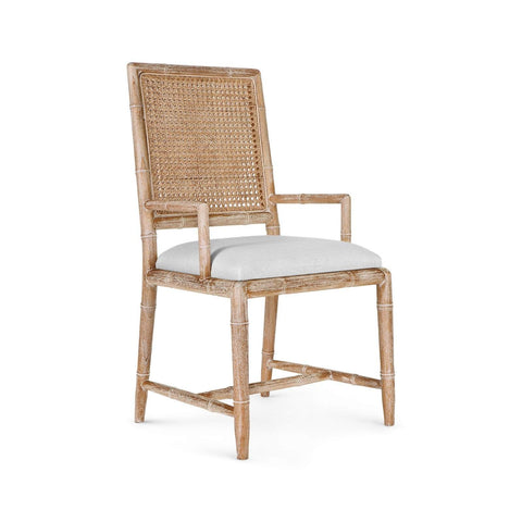 Bungalow 5 - AUBREY ARMCHAIR in NATURAL - Blue Hand Home