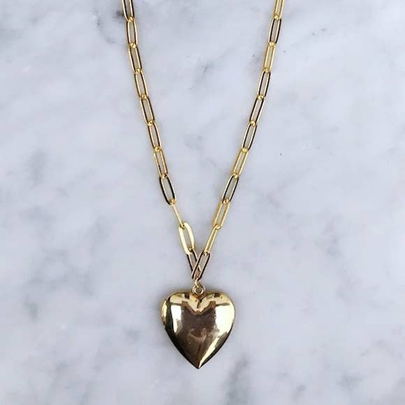 Amour Locket Necklace