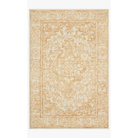Joanna Gaines Annie Rug Collection - ANN-03 White/Gold