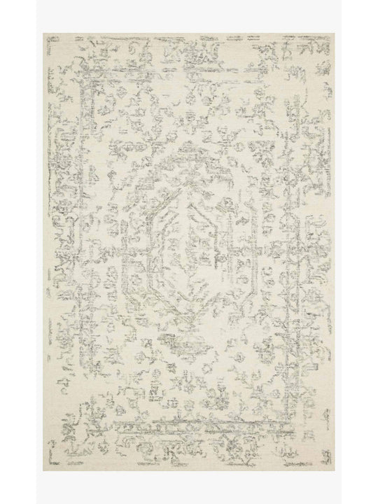 Joanna Gaines Annie Rug Collection - ANN-01 White/Grey