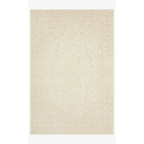 Joanna Gaines Annie Rug Collection - ANN-04 White/Lt Grey