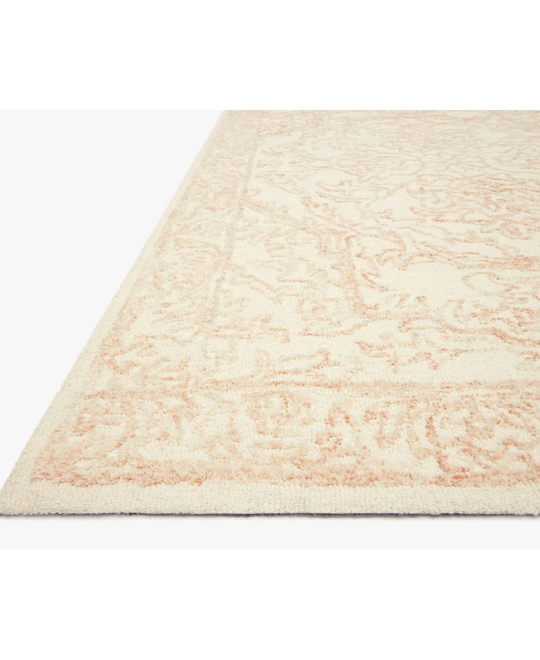 Joanna Gaines Annie Rug Collection - ANN-05 White/Pink
