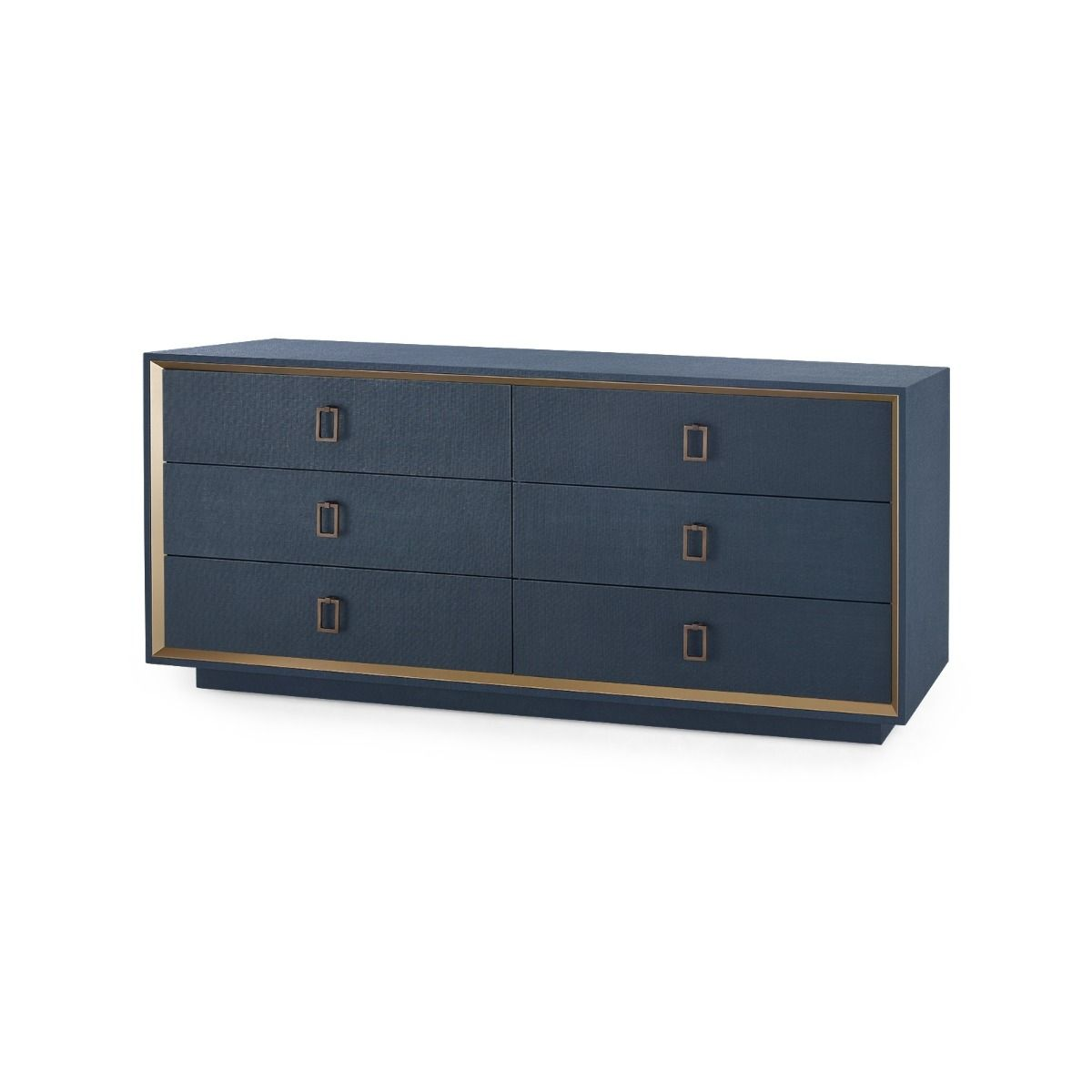 Bungalow 5 - ANSEL EXTRA LARGE 6-DRAWER, NAVY BLUE