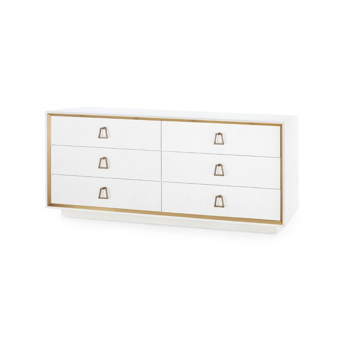 Bungalow 5 - ANSEL EXTRA LARGE 6-DRAWER, WHITE