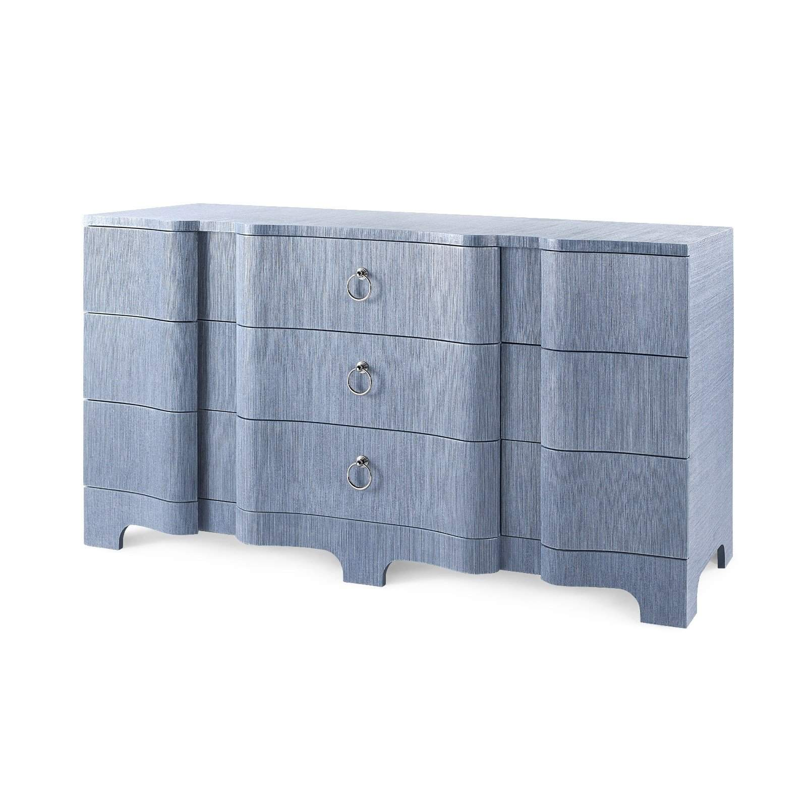 Bungalow 5 - BARDOT EXTRA LARGE 9-DRAWER in NAVY BLUE