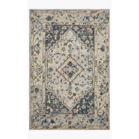 Beatty Rugs by Loloi - BEA-01 - Lt. Blue / Blue