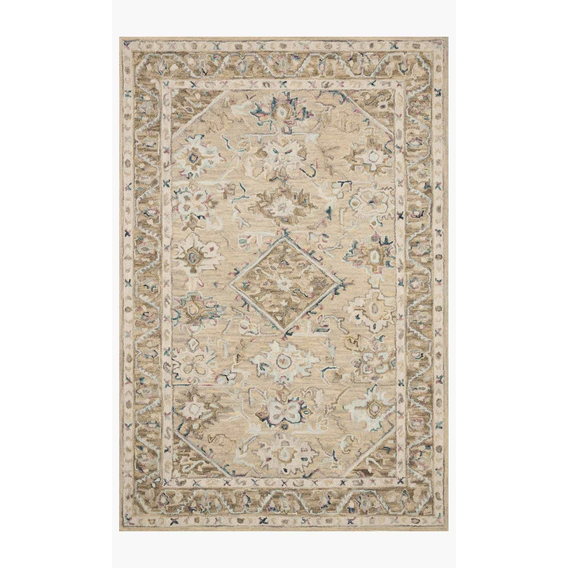 Beatty Rugs by Loloi - BEA-02 - Beige / Ivory-Loloi Rugs-Blue Hand Home